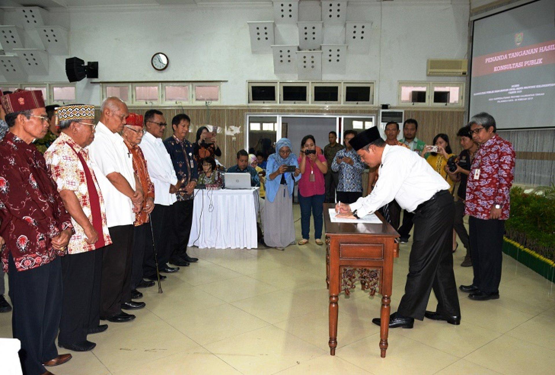 Sekda Kalteng: Pencapaian Target RPJMD Perlu Sinergisitas Kabupaten/Kota dan Provinsi