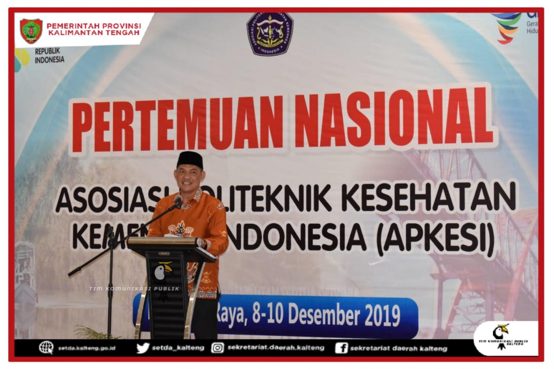 Pembukaan Pertemuan Nasional Asosiasi Poltekkes Kemenkes Se-Indonesia Tahun 2019