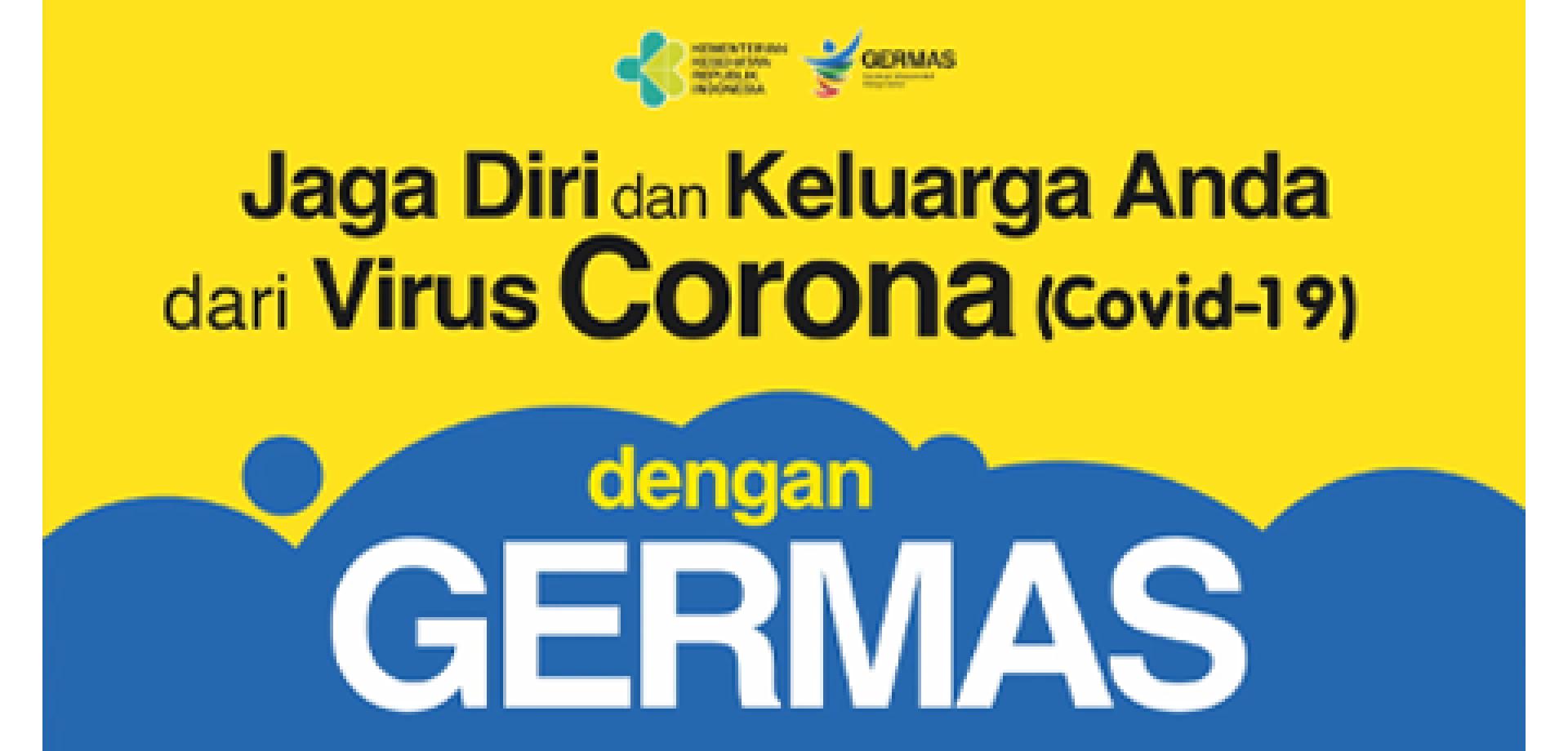 Jaga diri dan Keluarga dari Virus Corona (COVID-19) dengan Germas