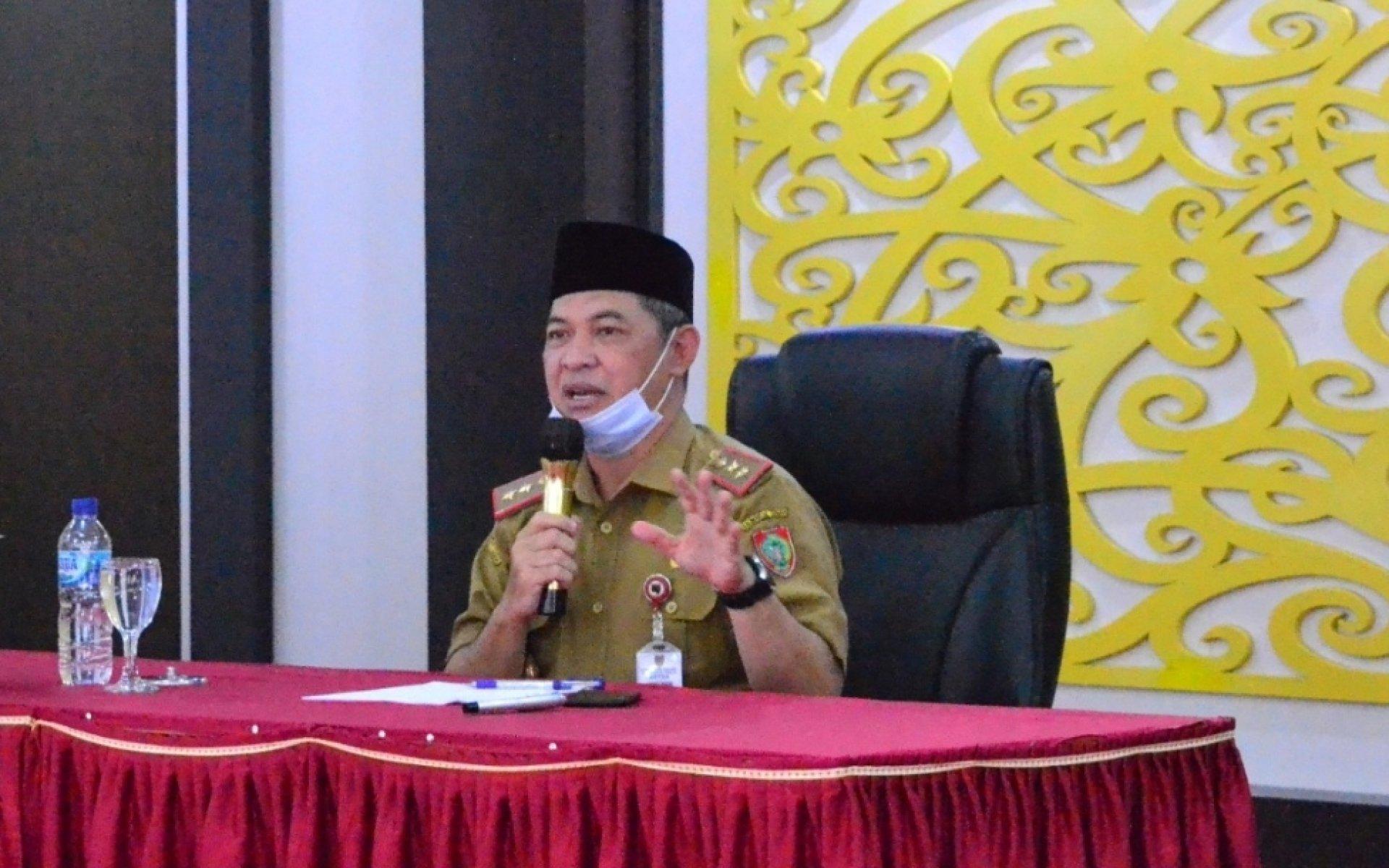 Sekda Fahrizal Fitri Jadi Pemateri Pelatihan Kepemimpinan Administrator