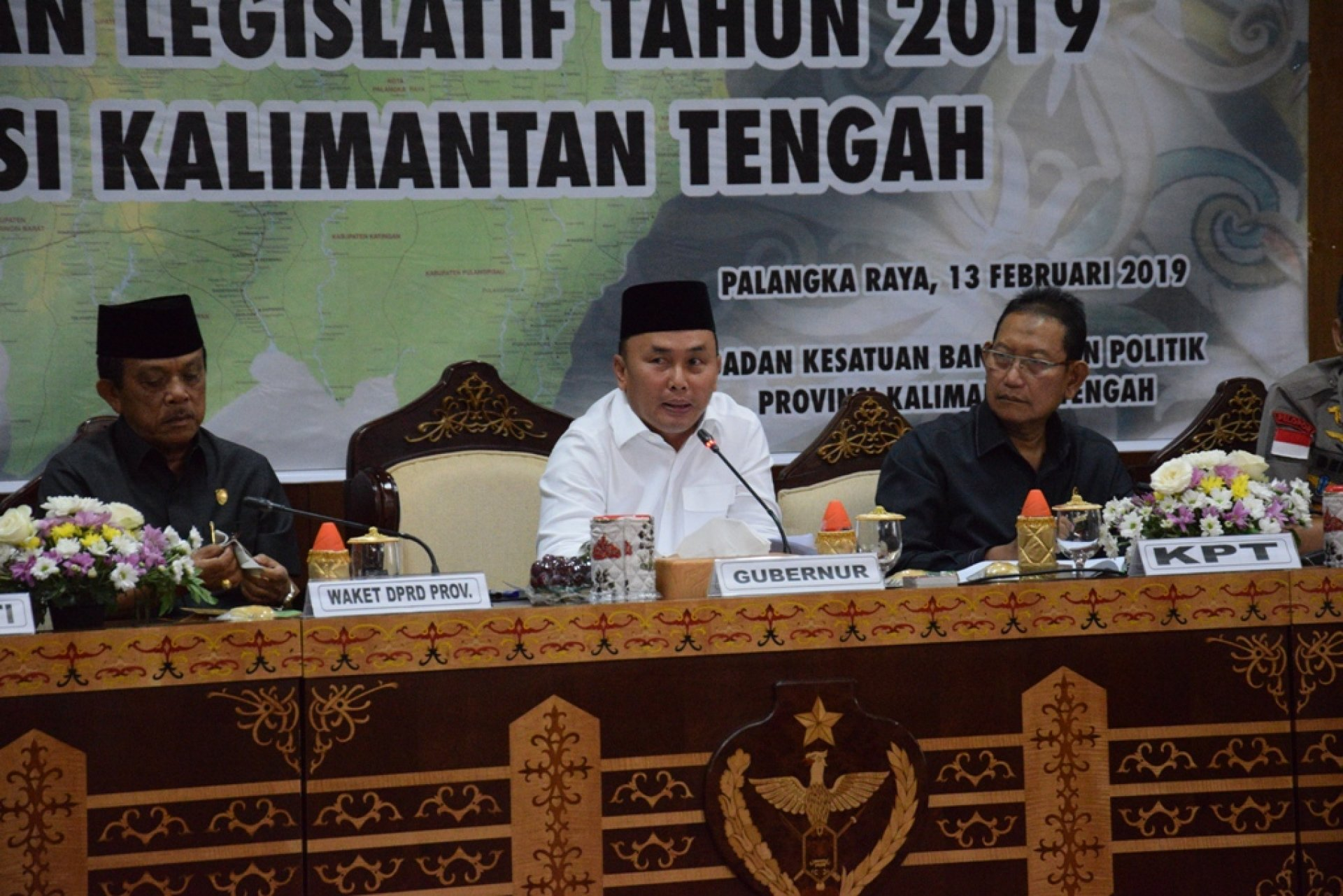 Gubernur Sugianto Ajak Masyarakat Kalteng Sambut Pesta Demokrasi Dengan Semangat dan Kegembiraan