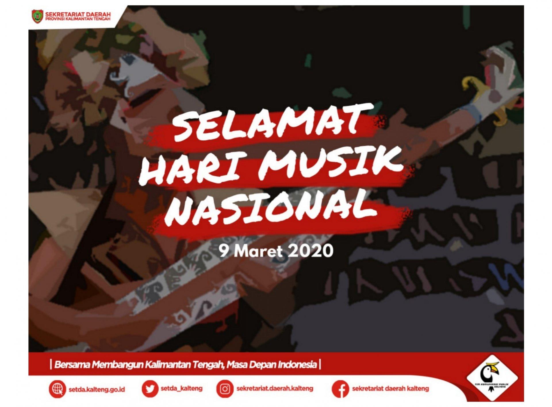 Selamat Hari Musik Nasional Tahun 2020