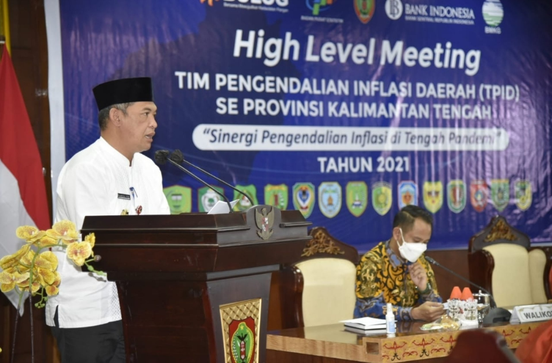 Perkuat Sinergi Pengendalian Inflasi, Rakor High Level Meeting TPID Se-Kalteng Digelar