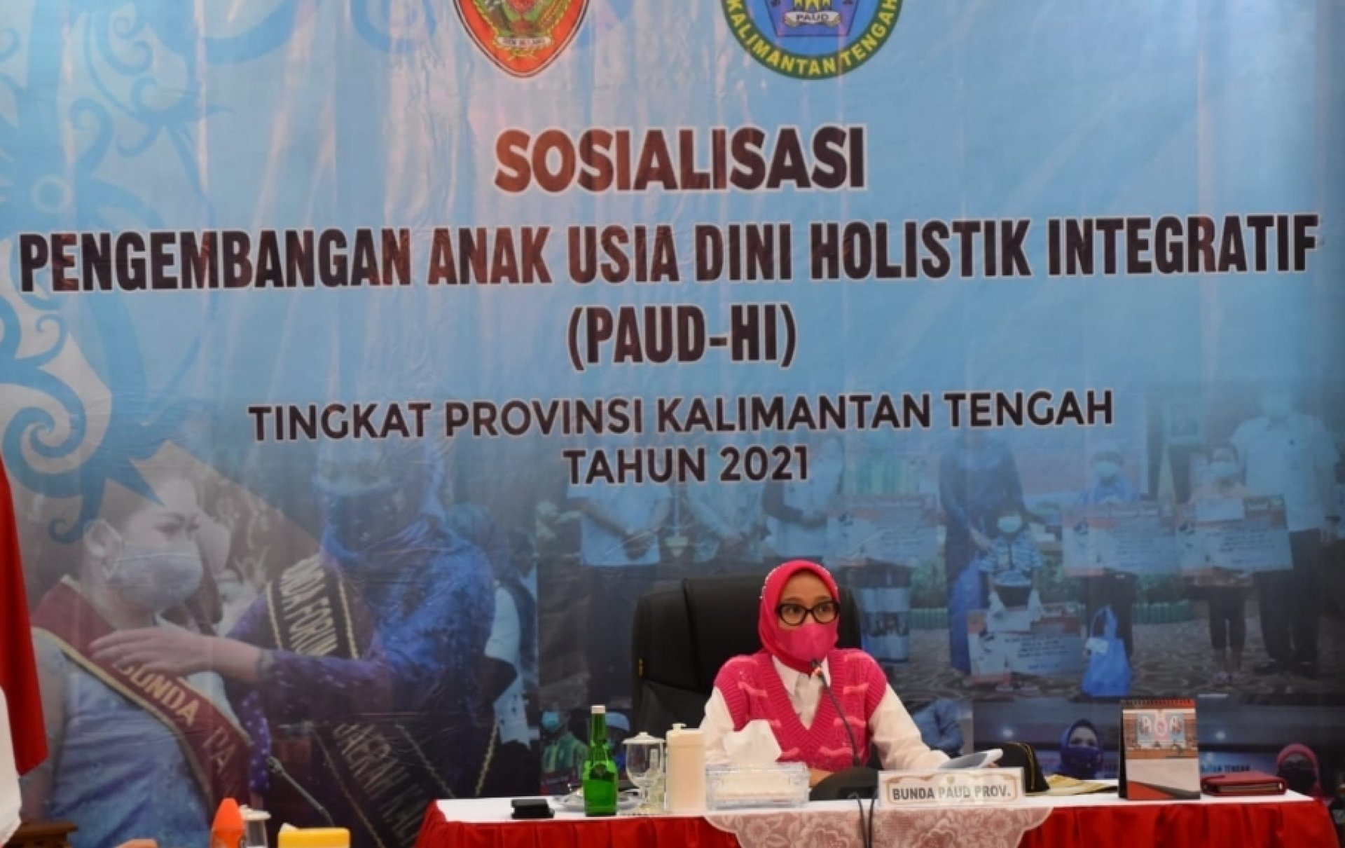 Setda Prov Kalteng Bunda Paud Kalteng Buka Kegiatan Sosialisasi Pengembangan Program Paud Holistik Integratif