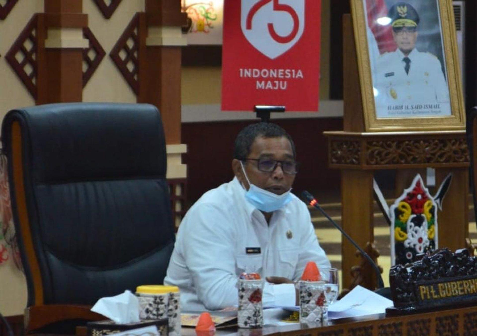 Lonjakan Kasus Covid-19, Plt. Gubernur Gelar Rapat dengan Pemerintah Kabupaten/Kota Se-Kalteng Perkuat Sinergi Penanganan