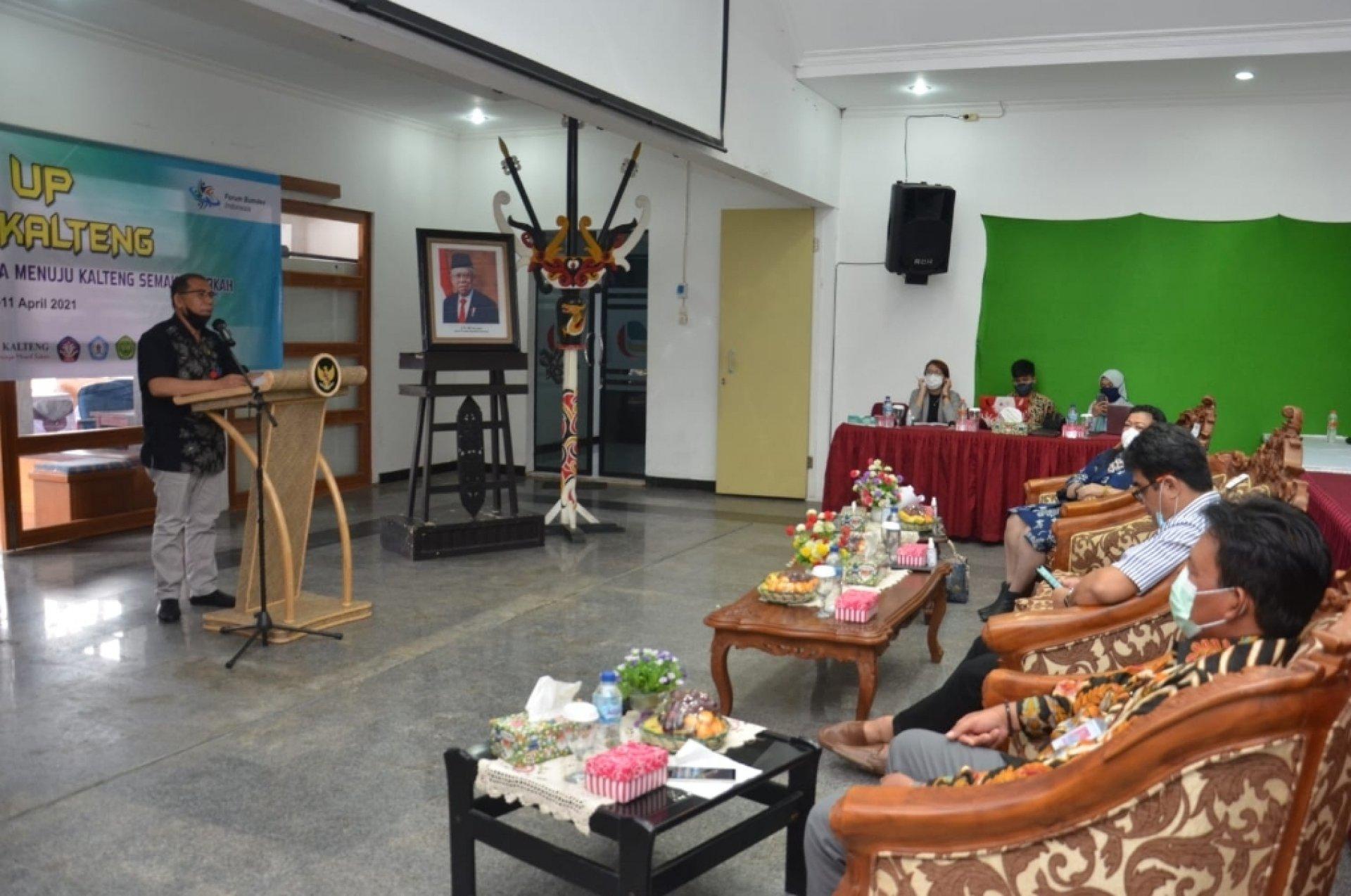 Gubernur Apresiasi dan Dukung Penuh Program Scale Up 100 BUMDes Kalteng Berkah