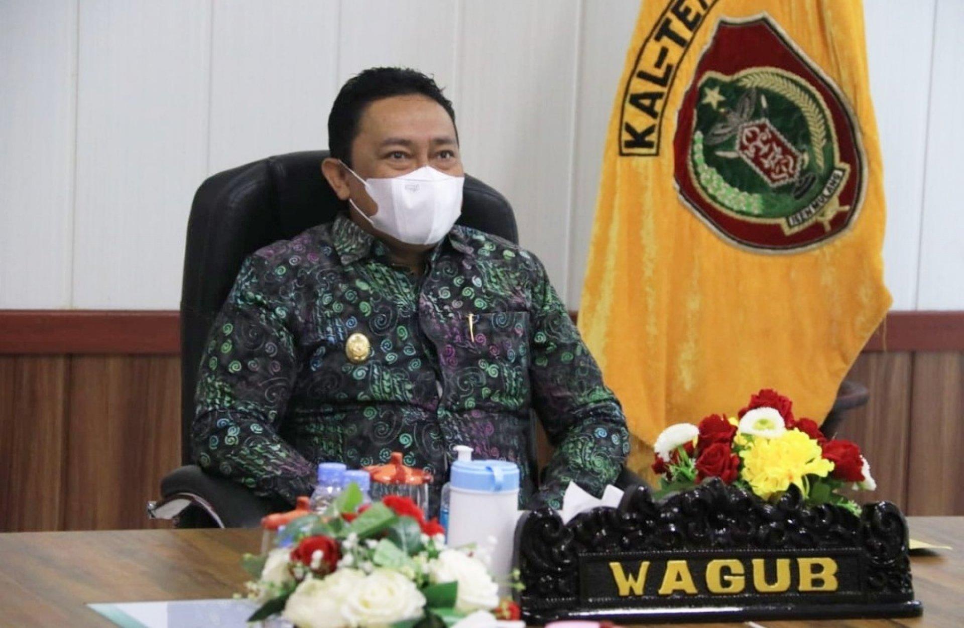 Wagub Edy Pratowo Hadiri Pertemuan Pengurus dan Anggota FKUB Kalteng Periode 2021-2026