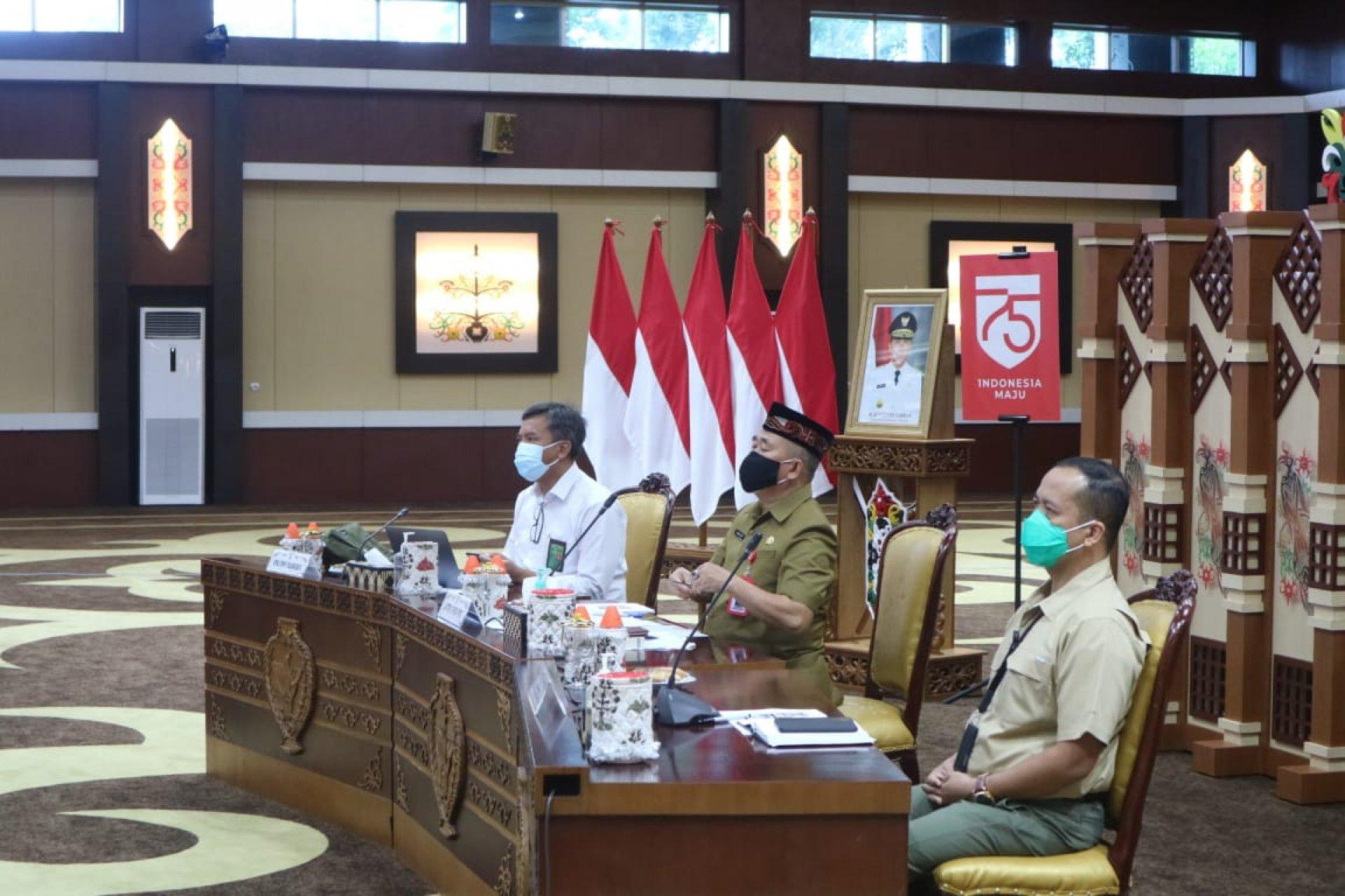 Digelar Kamis Mendatang, Pemprov Kalteng Ikuti Rakor Daring Persiapan Penyerahan SK Perhutanan Sosial dan TORA oleh Presiden