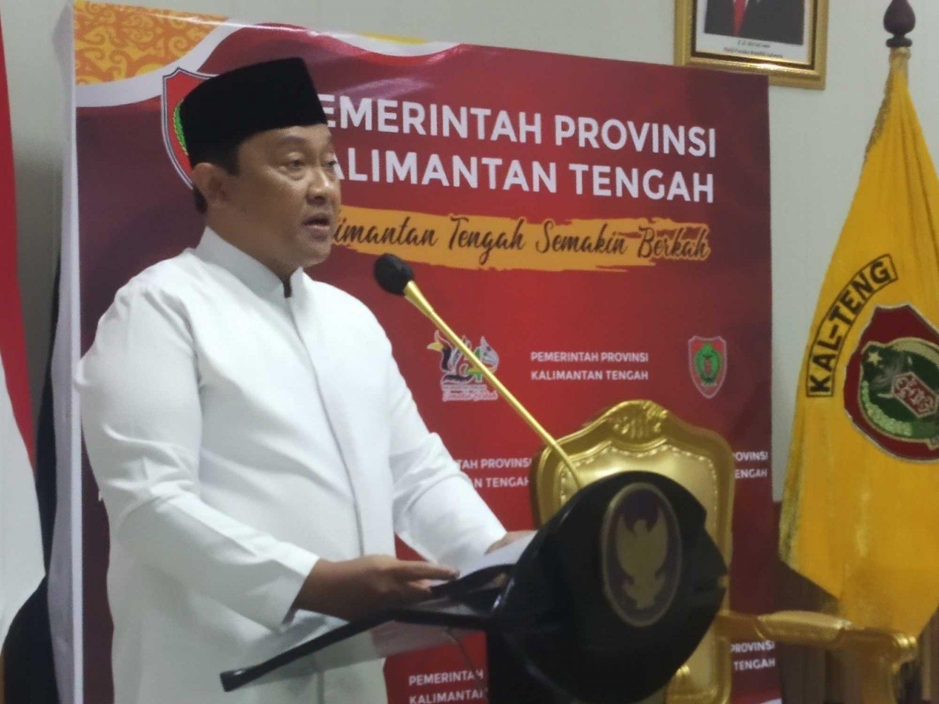 Wagub Edy Pratowo Buka Gelaran FSQ VIII Tingkat Provinsi Kalteng Tahun 2021