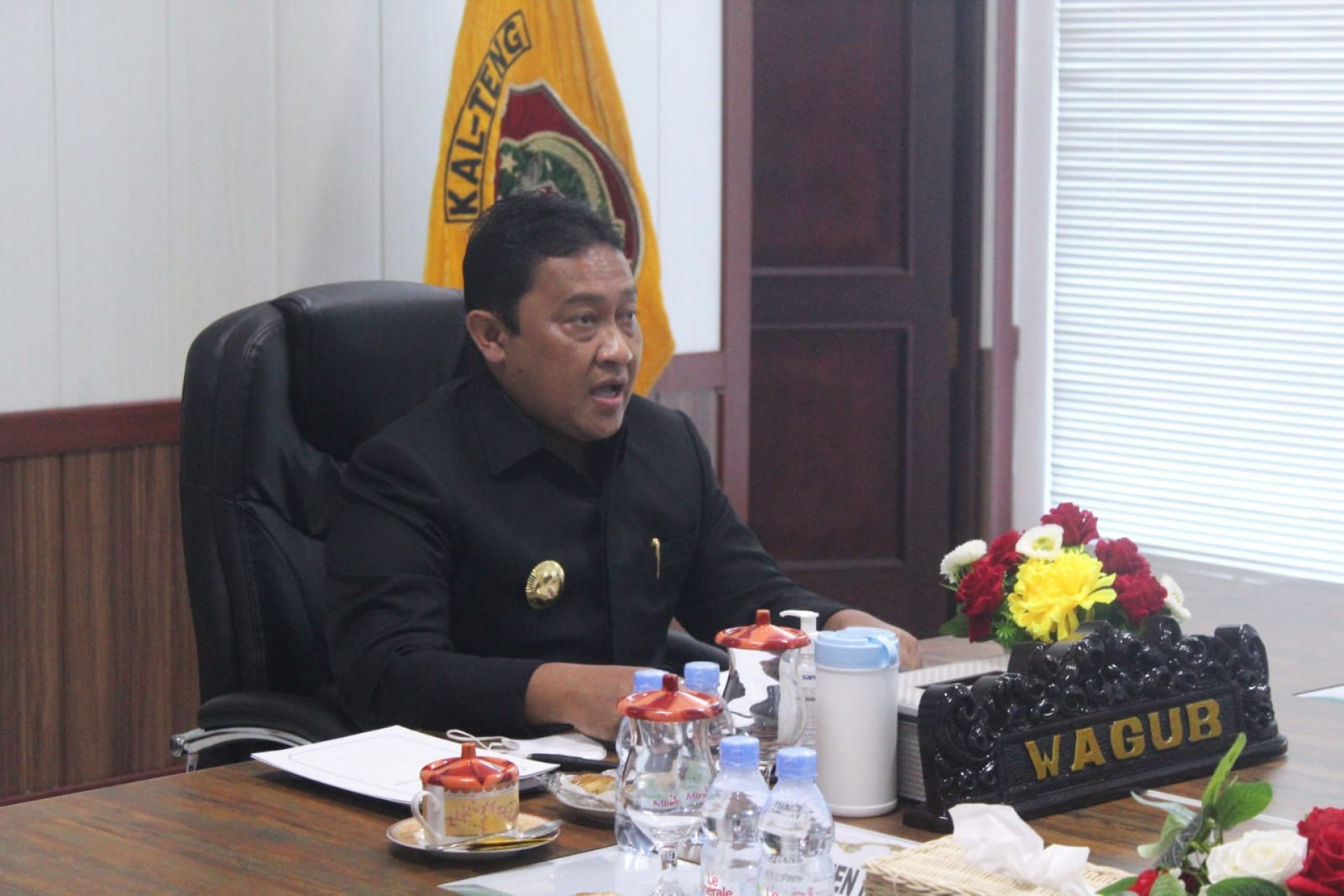 Wagub Kalteng Hadiri Rapat Paripurna Penutupan Masa Persidangan II dan Pembukaan Masa Persidangan III Tahun Sidang 2021