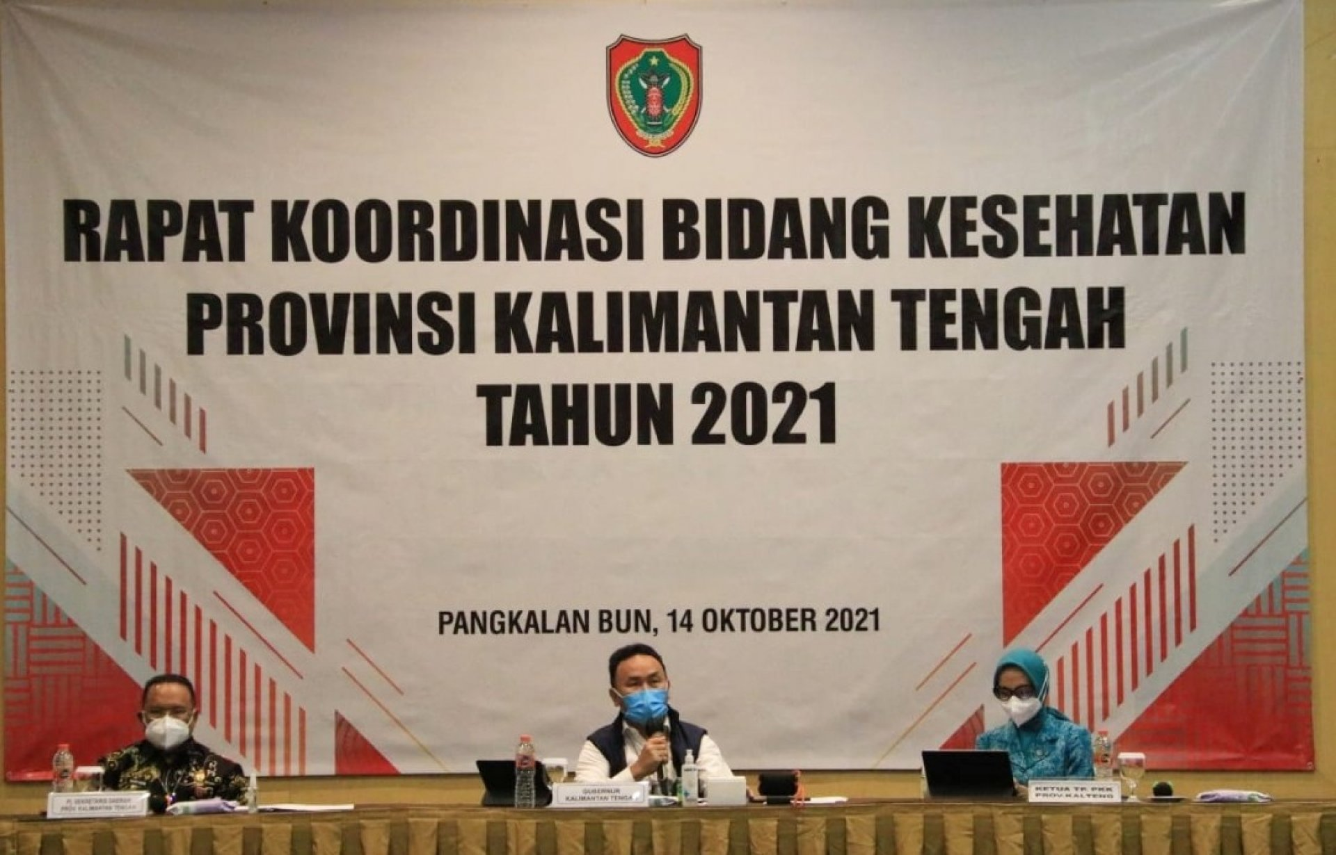 Hadiri Rakorbidkes, Gubernur Kalteng: Tingkatkan Sinergisitas dan Mutu Layanan Kesehatan Bagi Masyarakat