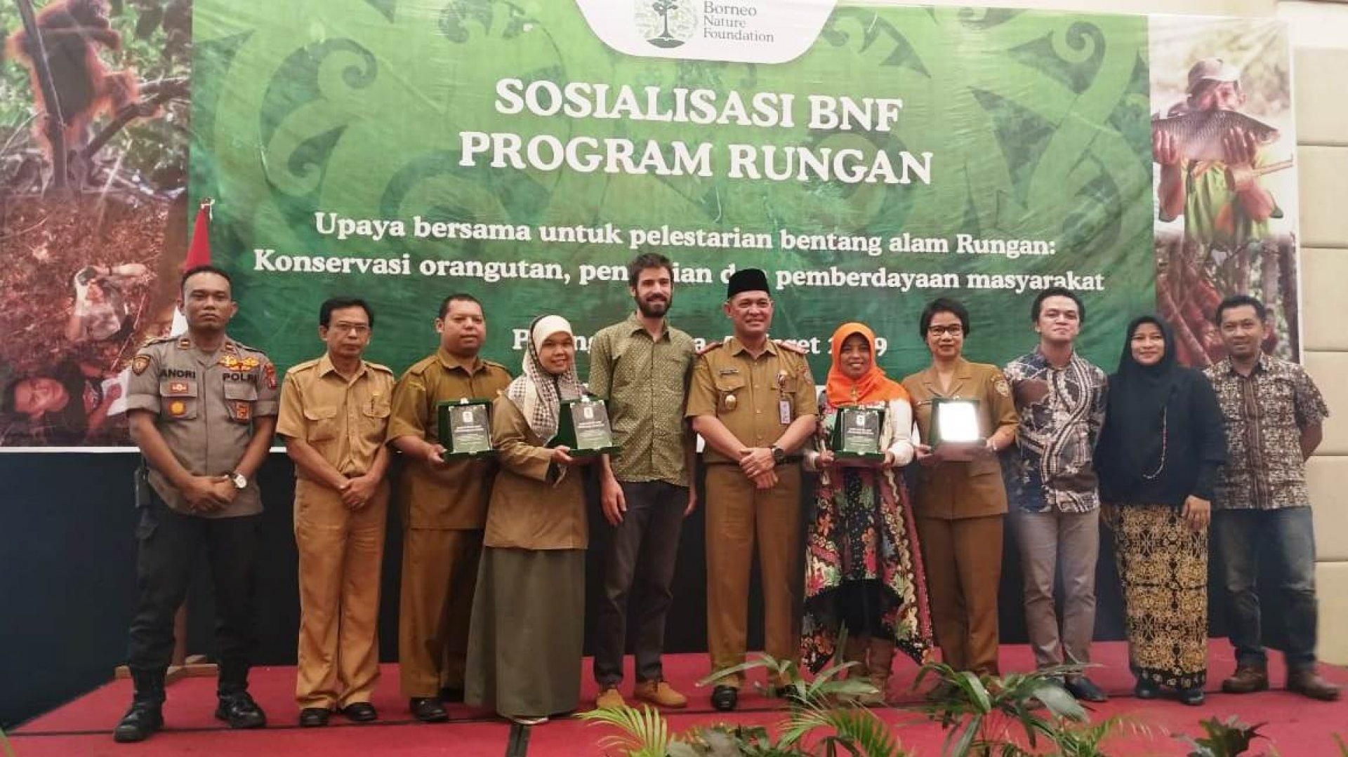 Pemprov Kalteng Dukung Program BNF Untuk Konservasi Orangutan