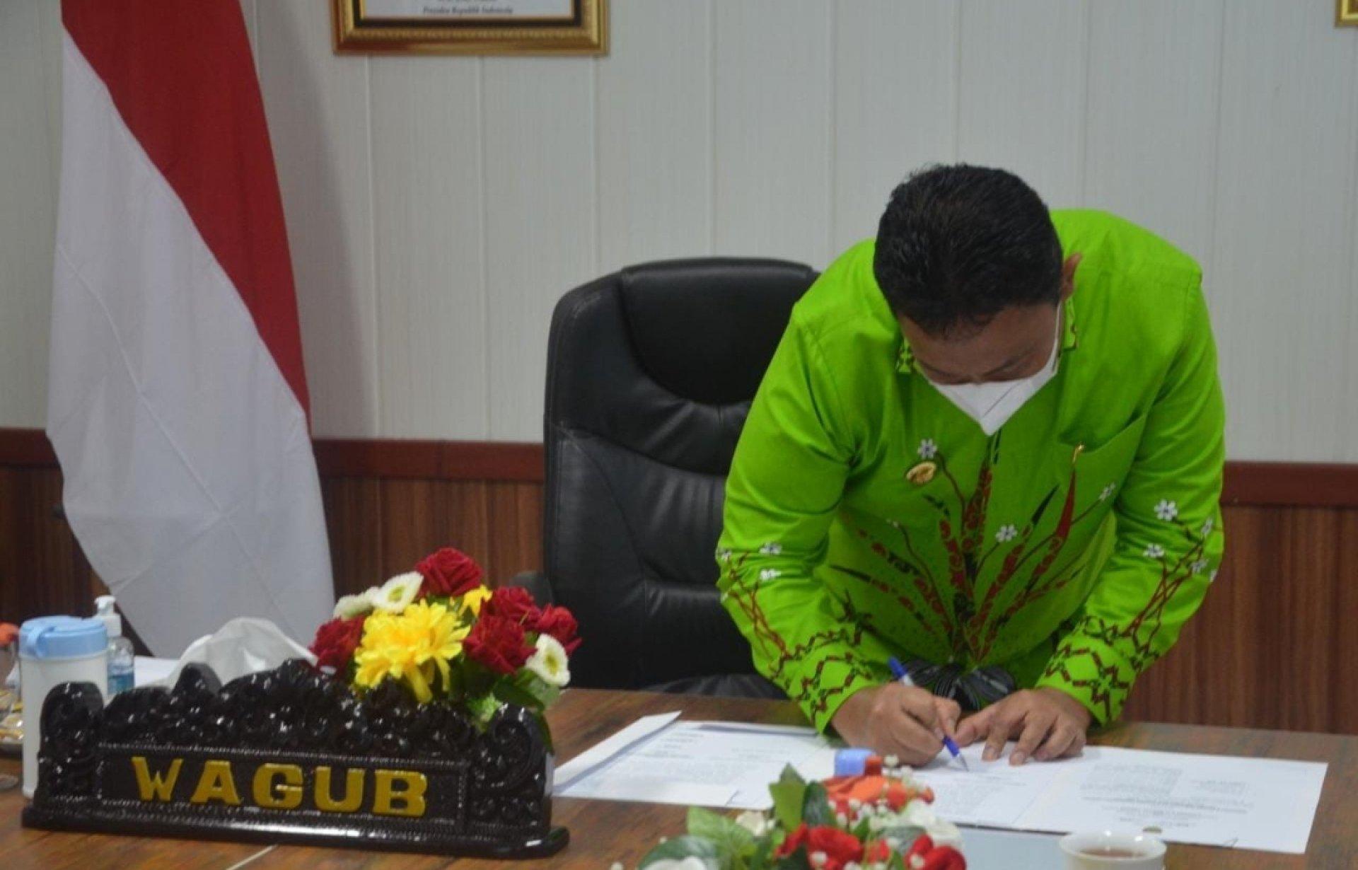 Pemprov dan DPRD Sepakati Raperda RPJMD Kalimantan Tengah 2021-2026