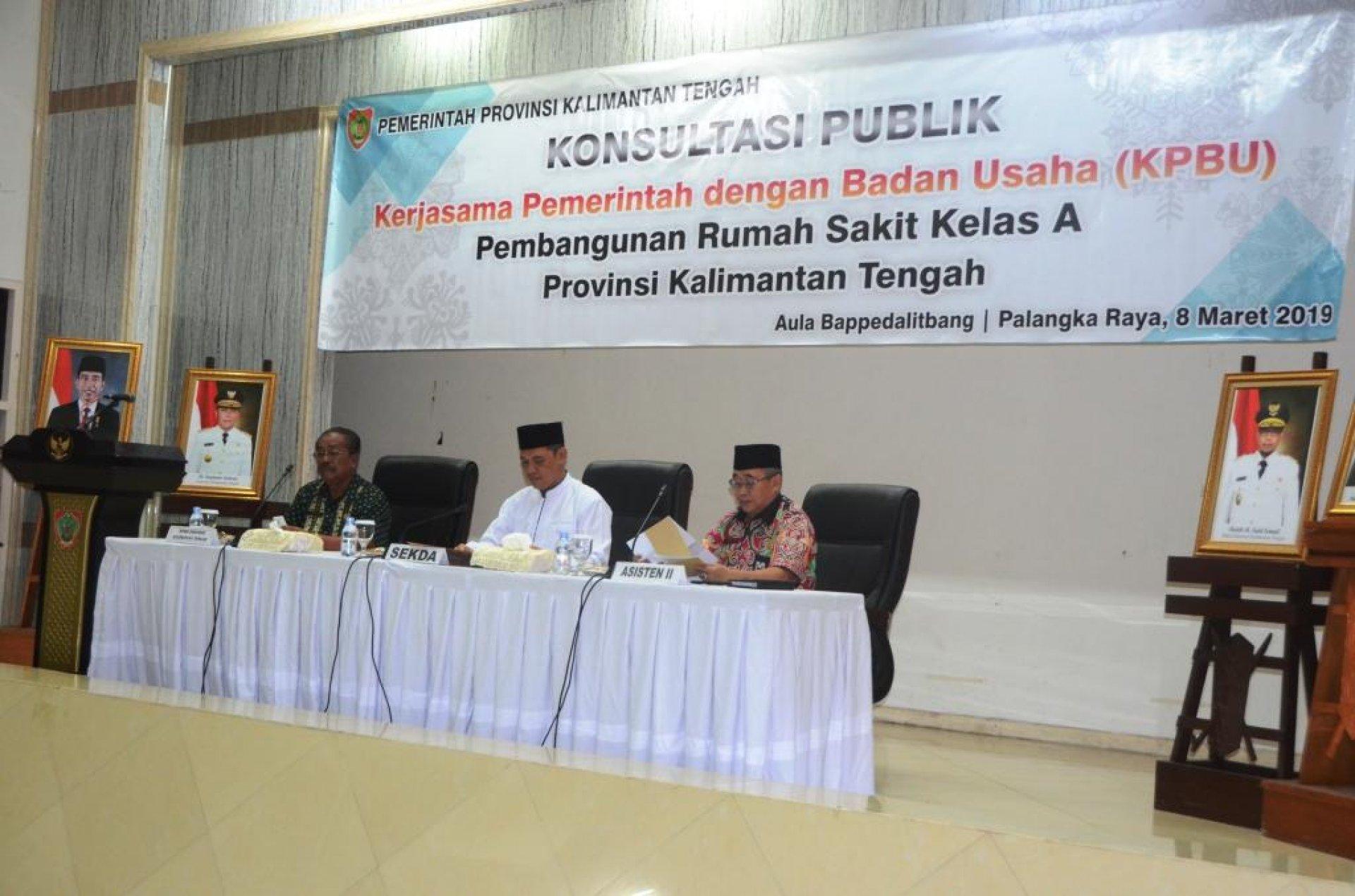 Pemprov Kalteng Bangun Rumah Sakit Kelas A Dengan Skema KPBU
