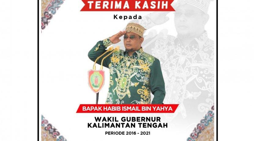 Terima Kasih Bapak Habib Ismail Bin Yahya