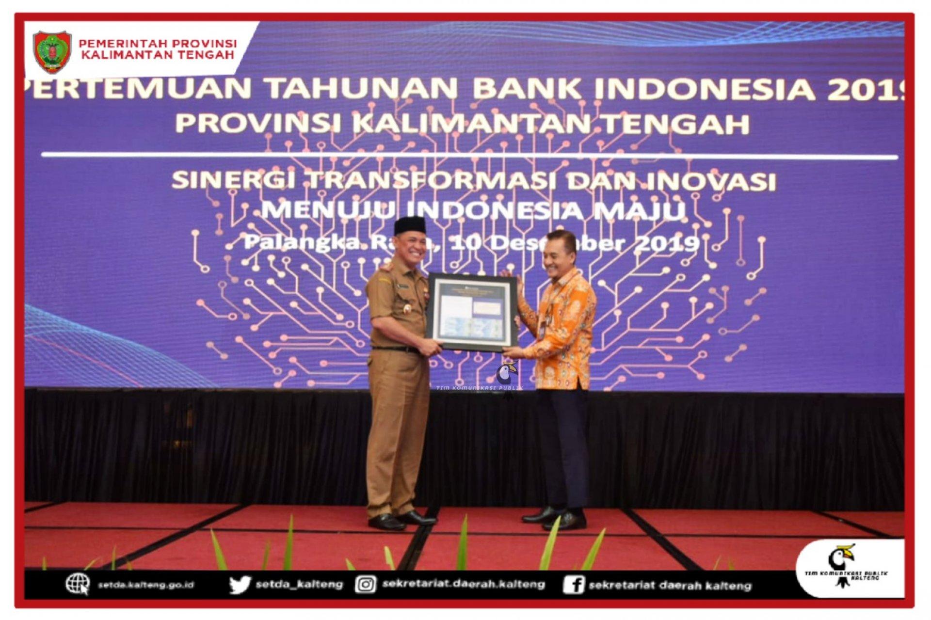 Pertemuan Tahunan Bank Indonesia Tahun 2019 Provinsi Kalimantan Tengah