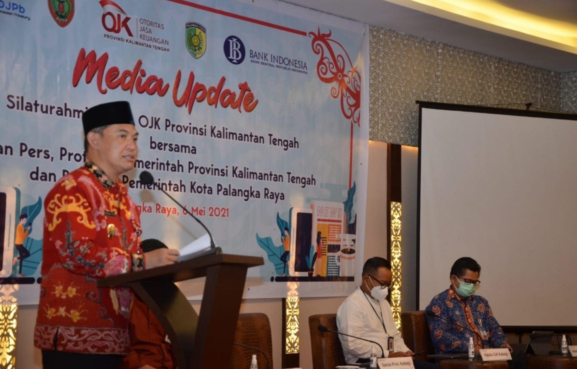 Buka Media Update OJK Kalteng, Sekda Tekankan Peran Penting Pers Dalam Pemberitaan Industri Jasa Keuangan